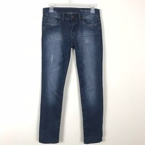 BLANK NYC Skinny Boot Jeans Distressed Sz 25